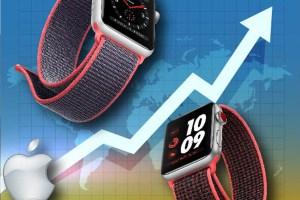 Grafico Apple Watch
