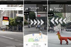Google Maps, IA e realtà aumentata