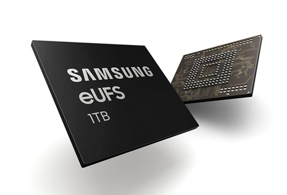 Samsung memoria eUFS