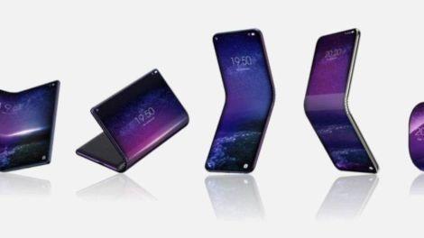tcl smartphone curvabile