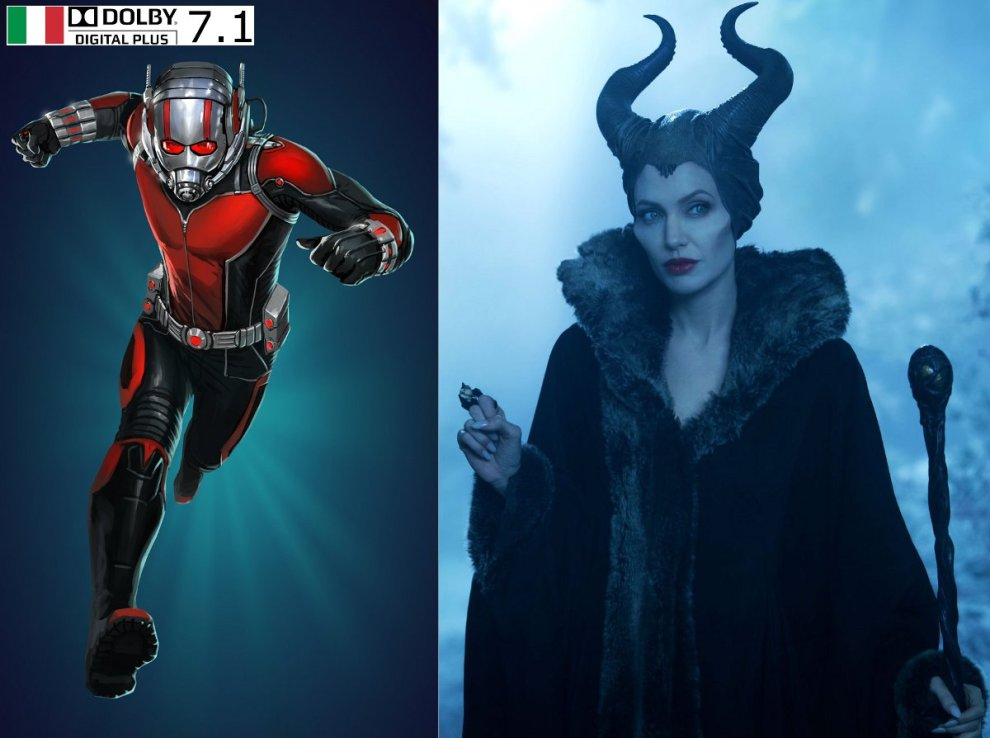 Ant-Man & Maleficent 4K news