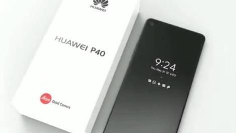 Huawei P40 home