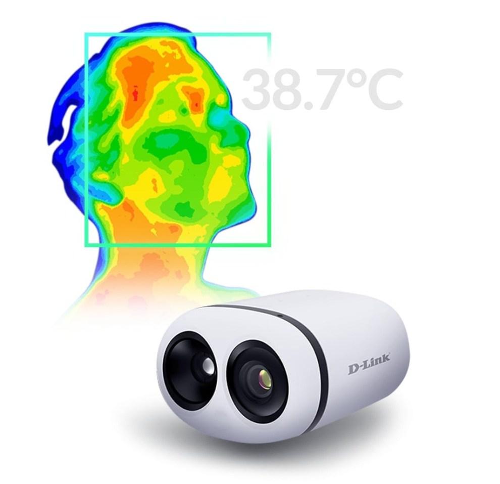 D-Link DCS-9500T - Screening temperatura corporea