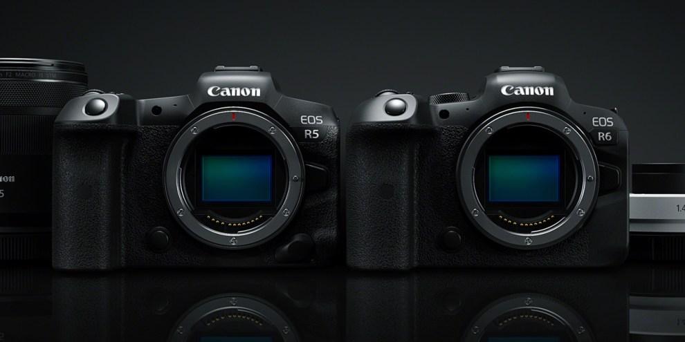Nuove Canon EOS R5 ed EOS R6