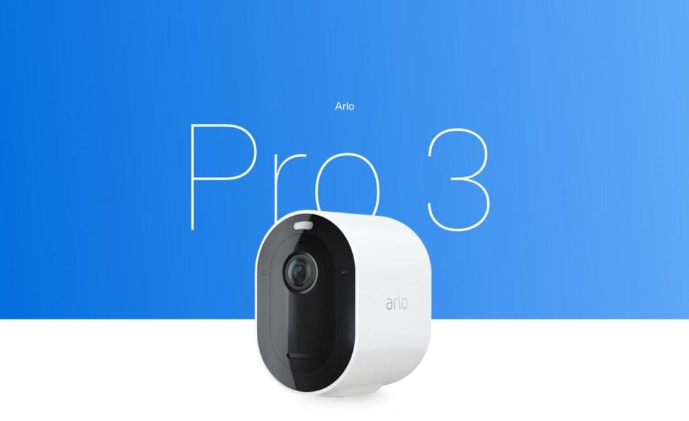 Camera sicurezza outdoor Arlo Pro 3