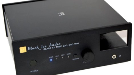Black Ice Audio - Glass Fx Tube DAC DSD Wi-Fi