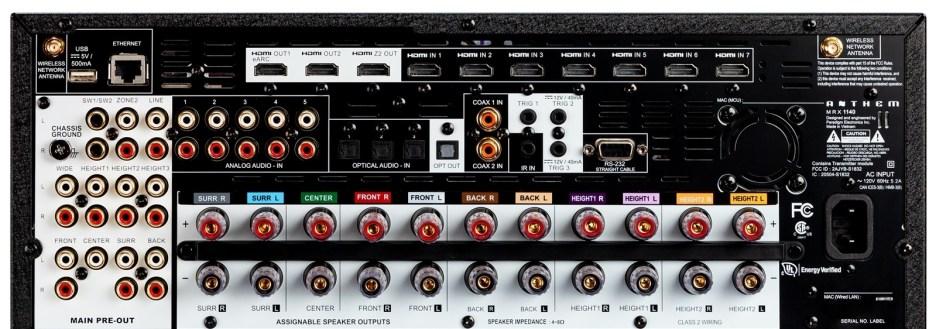 Anthem: otto novità tra finali, ricevitori e processori AV