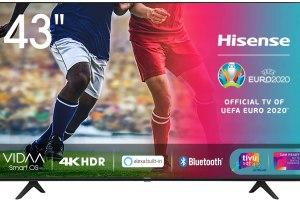 TV Hisense 43AE7000F: prezzo più basso di sempre su Amazon