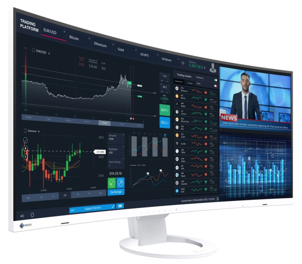 Monitor Eizo FlexScan – Taglie per tutti i gusti