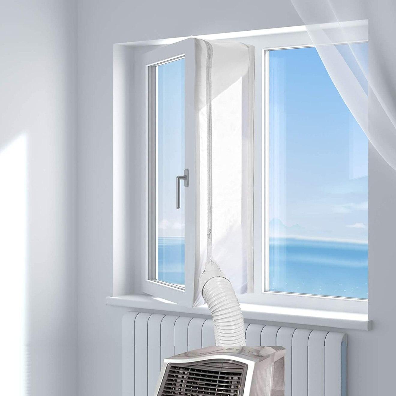 guaina finestra per clima portatile