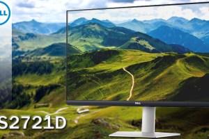 Dell S2721D Intestazione