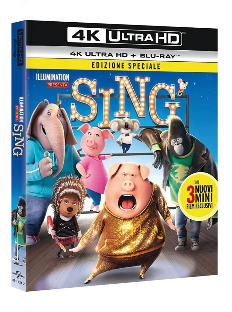 Sing Ultra HD Blu-ray