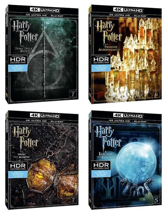 Harry Potter UHD marzo 2017