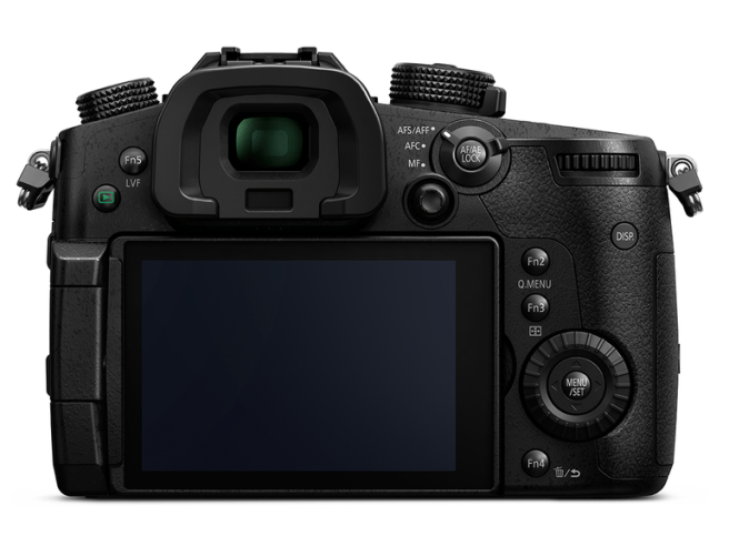 Lumix GH5 rear