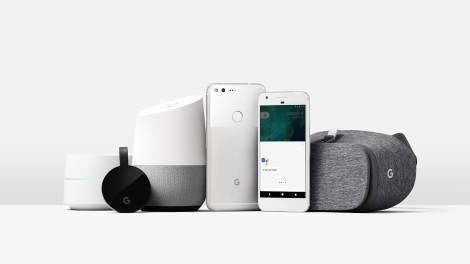 google home pixel family