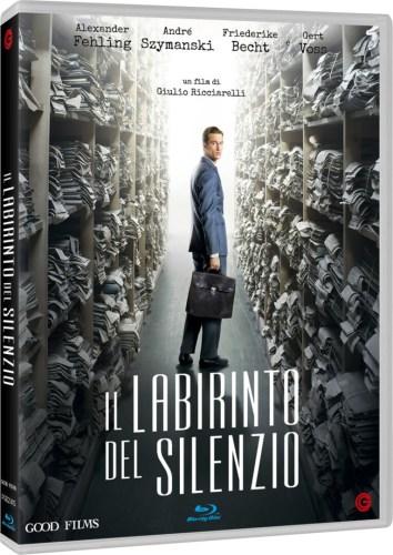 Labirinto del silenzio Blu-ray cover
