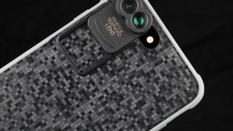 Kamerar Zoom, macro e grandangolo per iPhone 7 Plus