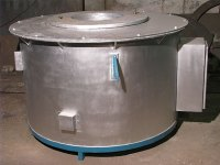 Crucible Furnace / Pit Type Melting Holding Furnace ...