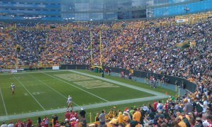 Lambeau crowd