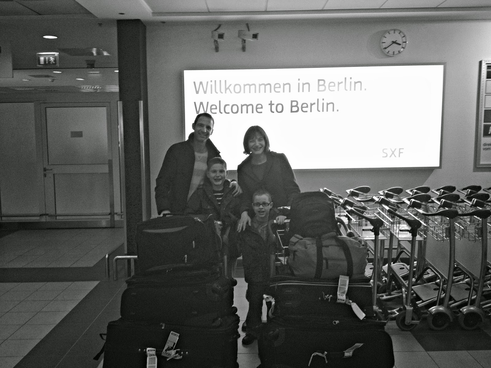 First days in Berlin