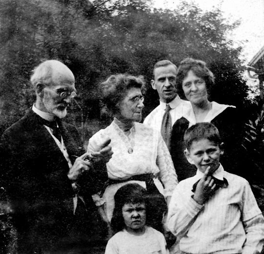 James Agee + Family