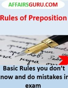 What is preposition also rules of example pdf rh affairsguru