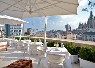 Sergio Mei sale sulla terrazza del Boscolo Hotel Milano  Affaritalianiit