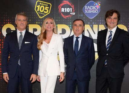 Risultati immagini per conferenza stampa CAPODANNO IN MUSICA 2018 mediaset