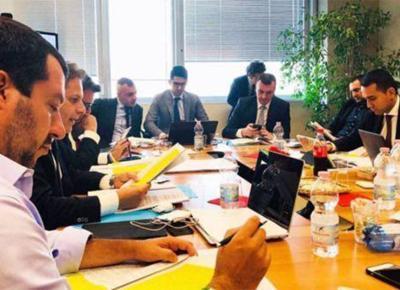 Salvini di maio governo lega m5s ape