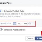 Scheduling Facebook Page Updates