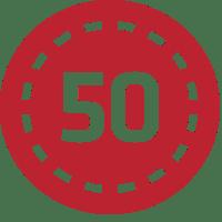 50onred