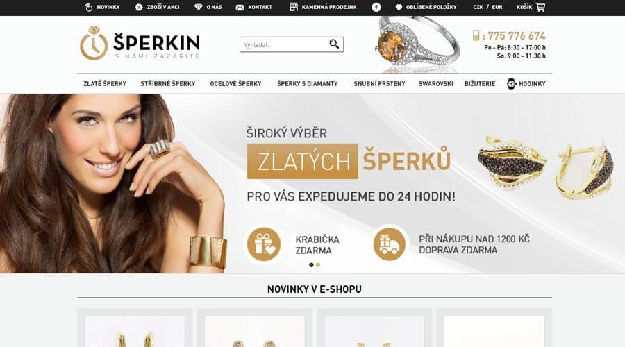 eshop sperkin.cz