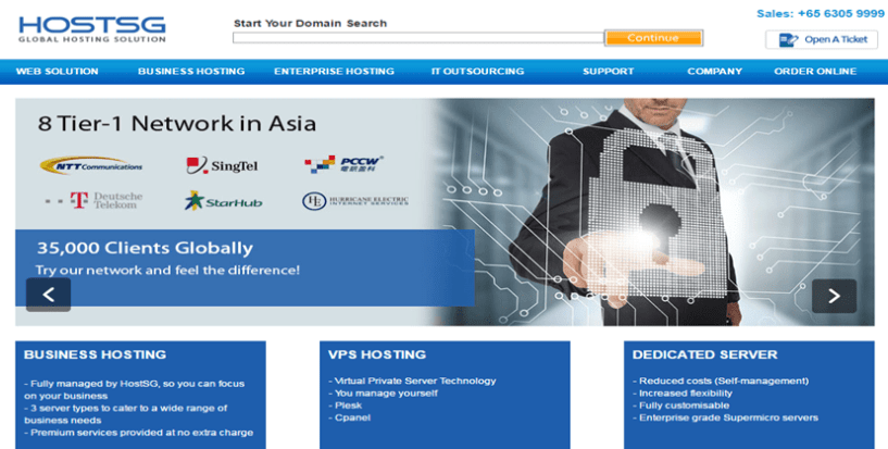 HostSG- Best Web Hosting Service Providers In Singapore