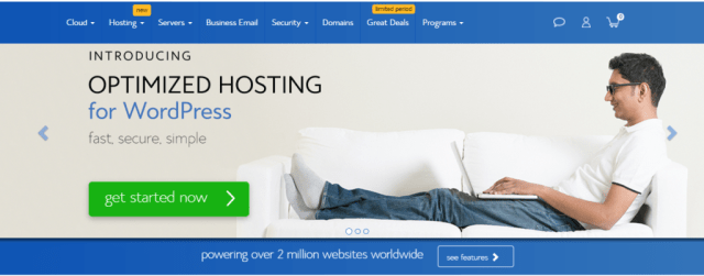bluehost- Web Hosting Providers In Canada/Toronto