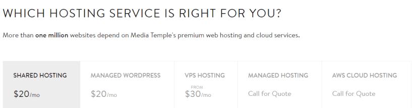 media temple pricing- BestWeb Hosting Providers In UK