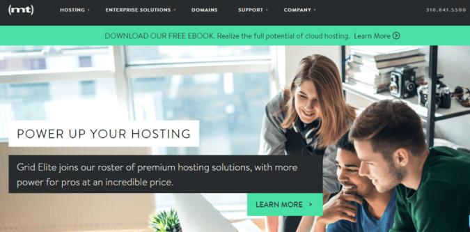 media temple- BestWeb Hosting Providers In UK