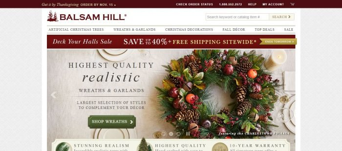 {Latest} Balsam Hill Coupon Codes September 2018 -Save $55