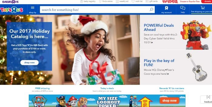 {Latest } Toysrus Black Friday Deals 2018- Get $100 Gift Card FREE