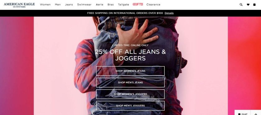American eagle coupons and offers