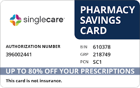 Simglecare pharmacy savings card for commissions