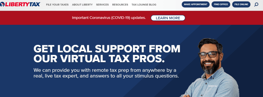 Tax Preparation File Taxes Income Tax Filing Liberty Tax Service®