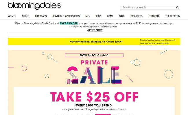 Updated July 2019 Bloomingdales Coupon Codes Get 60 Off
