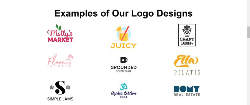 Tailor Brands logo designs