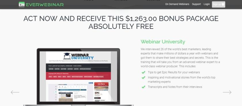 Why Everwebinar