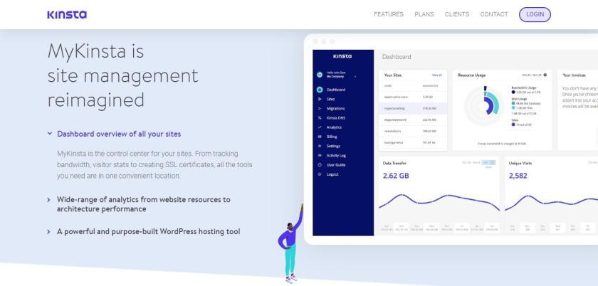 Kinsta Site Management