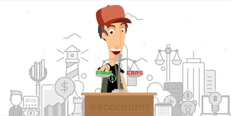Best Pros & cons to Check Ecomhunt quality