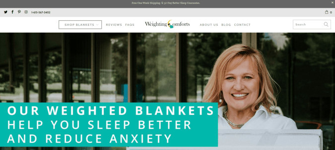 Weighting Coupon Codes- The Weighted Blankets