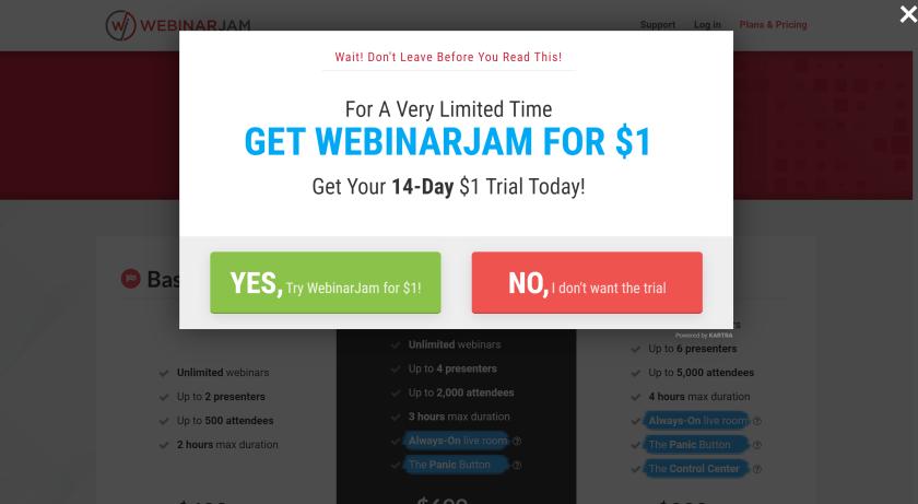 WebinarJam free trial- WebinarJam Coupon codes discount