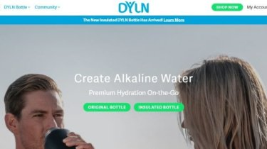 DYLN Living Water Bottle Review