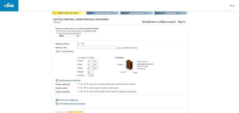 online freight trade
